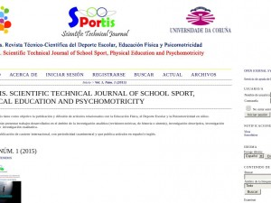 Revista Cientifica Sportis