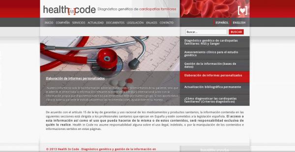 Desarrollo y Migración de Web Health In Code