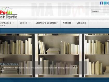 Desarrollo Portal Web – Sportis Formación Deportiva