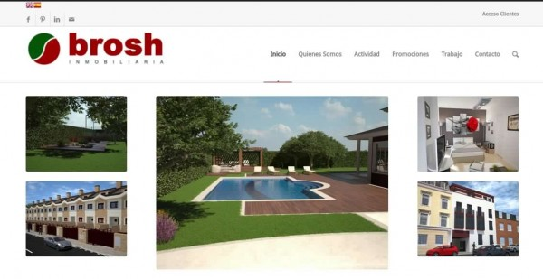 Web Corporativa – Brosh Inmobiliaria China