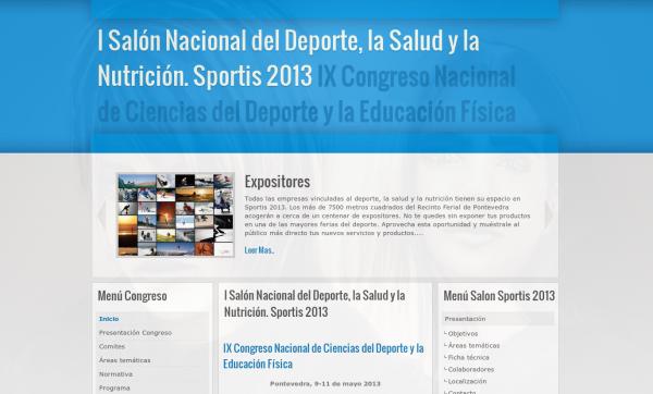 Web del Evento – Congreso Deporte