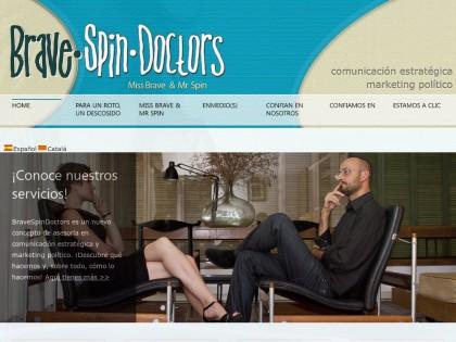 Web Corporativa – Brave Spin Doctors