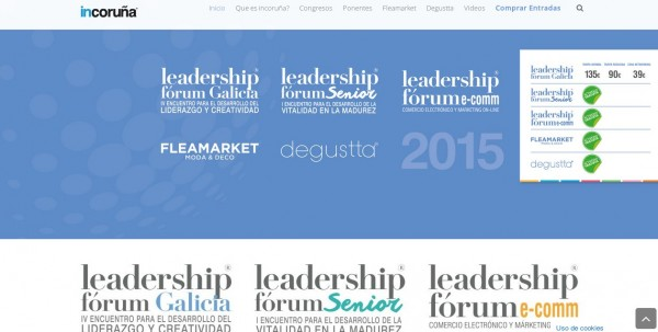 Diseño Web – Evento Incoruña 2015