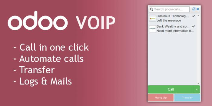odoo voip