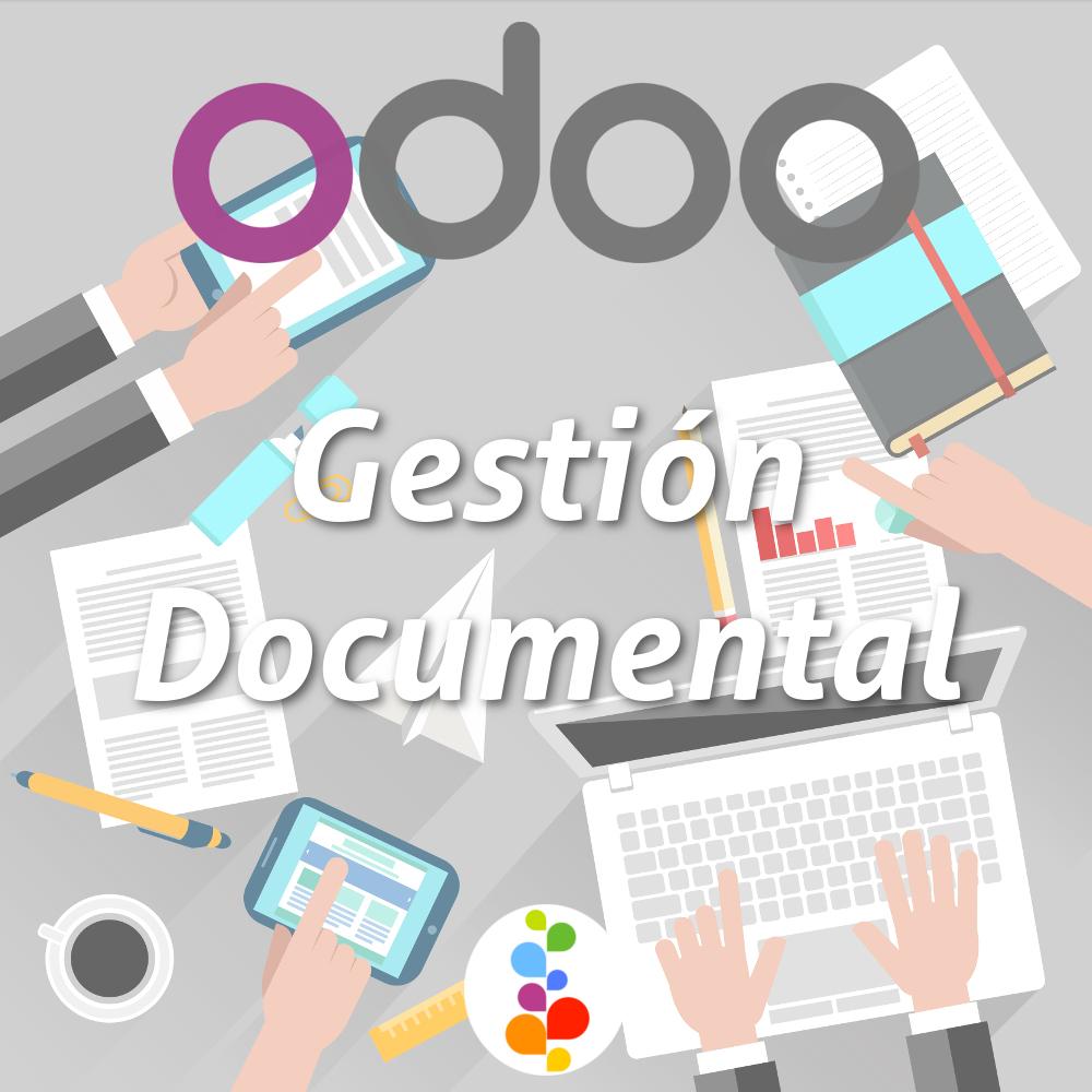 odoo  software gesti u00f3n documental open source libre