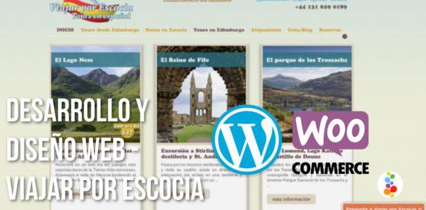 Desarrollo y Diseño Web – Viajar por Escocia