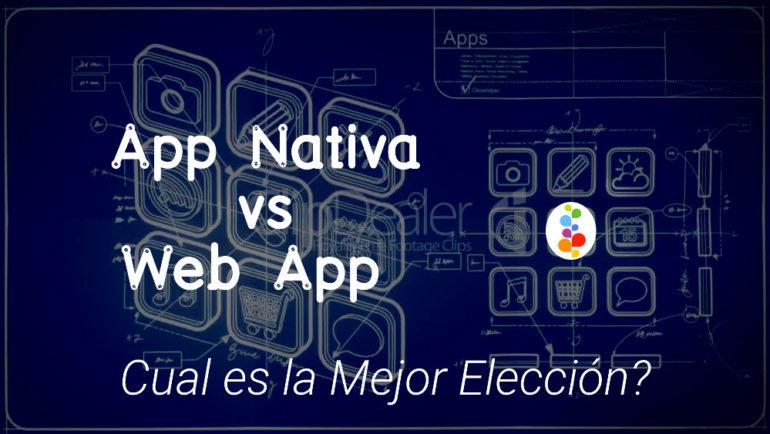 App Nativa vs Web App