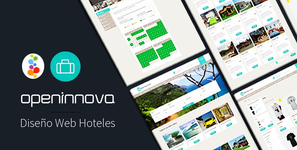 Dise o web para hoteles hostal casas rurales motor de - Hoteles de diseno en espana ...