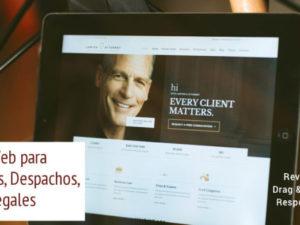 Diseño Web para Abogados, Despachos, Firmas Legales