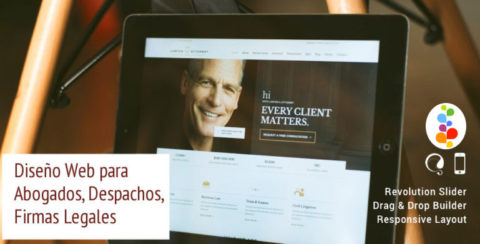 Diseño Web para Abogados, Despachos, Firmas Legales Openinnova