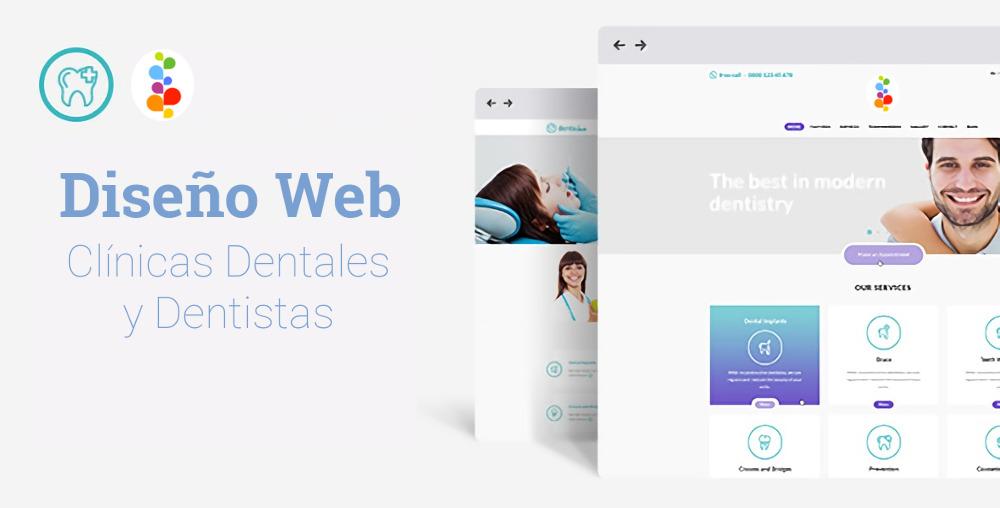 Dise o web para cl nicas dentales y dentistas openinnova - Disenos clinicas dentales ...