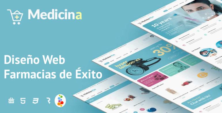 Diseño Web para Farmacias de Éxito Openinnova