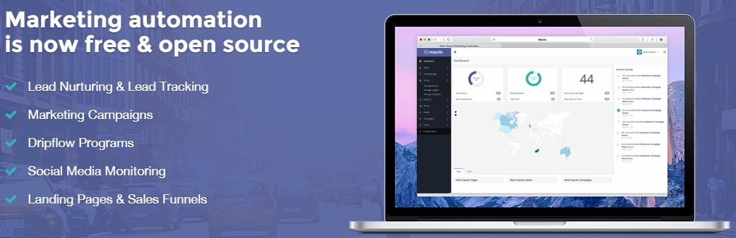 Mautic Sistema Marketing Automático en Cloud la Nube Openinnova3