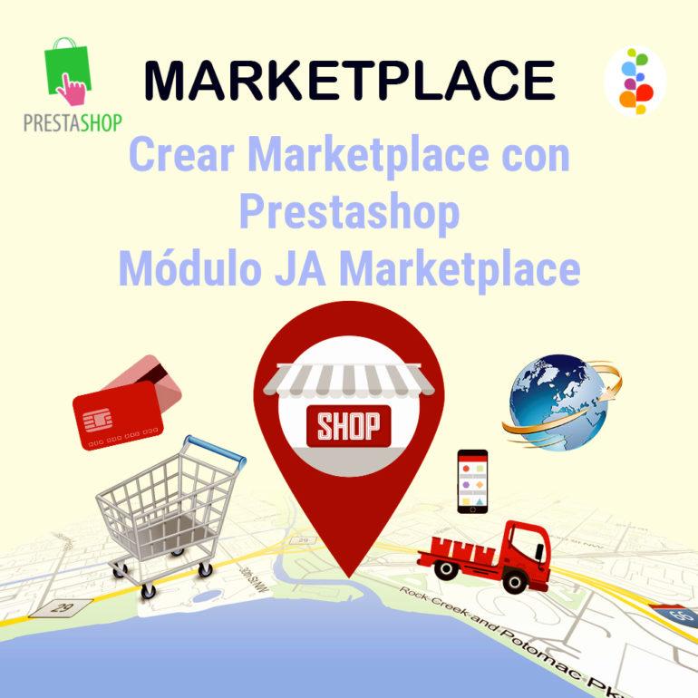 Crear Marketplace con Prestashop. Módulo JA Marketplace Openinnova