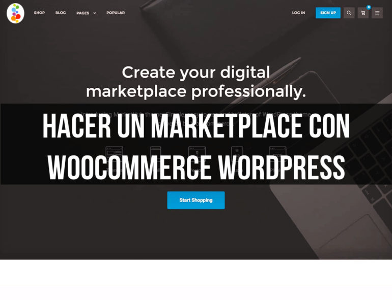 Hacer un Marketplace con Woocommerce Wordpress Openinnova