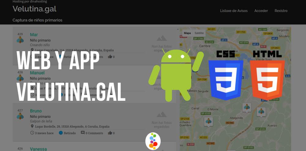 Web y App Velutina.gal - Ayuntamiento Abegondo Openinnova
