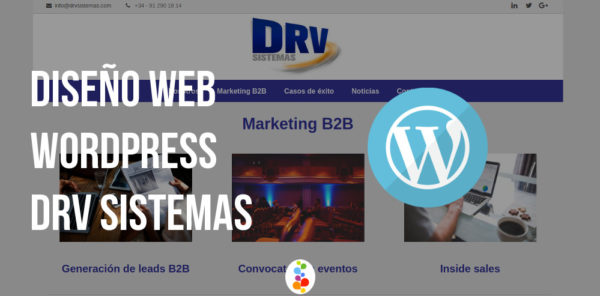 Diseño Web WordPress – DRV Sistemas