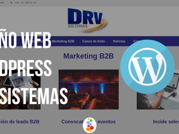 Diseño Web WordPress – DRV Sistemas