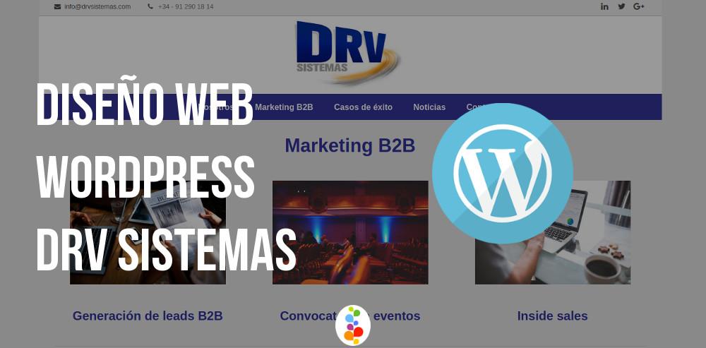 Diseño Web Wordpress - DRV Sistemas Openinnova