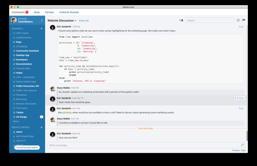 Mattermost. Open Source, Cloud Nube Privada. Alternativa a Slack Openinnova1