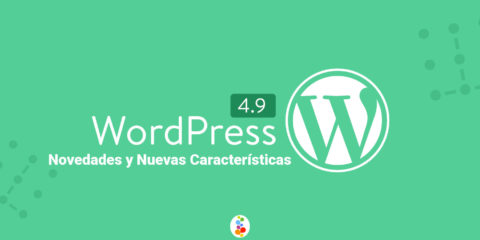 Wordpress 4.9 Novedades y Nuevas Características Openinnova portada