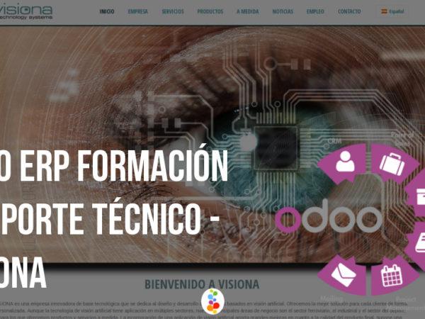 Odoo ERP Formación y Soporte Técnico – Visiona