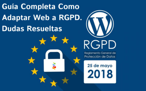 Guía Completa Como Adaptar Web a RGPD. Dudas Resueltas Openinnova