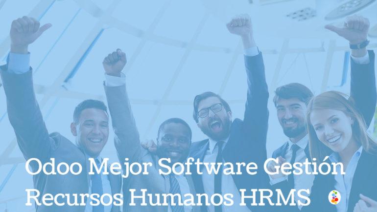 Odoo Mejor Software Gestión Recursos Humanos HRMS Openinnova