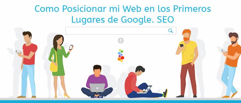 Como Posicionar mi Web en los Primeros Lugares de Google Openinnova