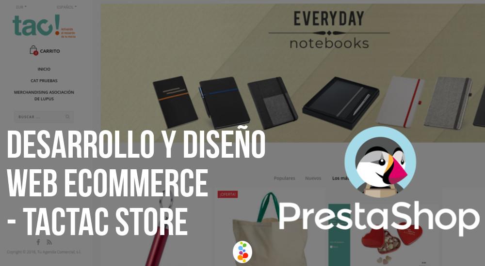 Desarrollo y Diseño Web Ecommerce - TacTac Store