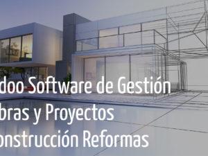 Odoo Software de Gestión Obras y Proyectos Construcción Reformas