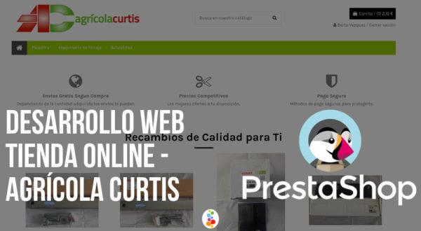 Desarrollo Web Tienda Online – Agrícola Curtis