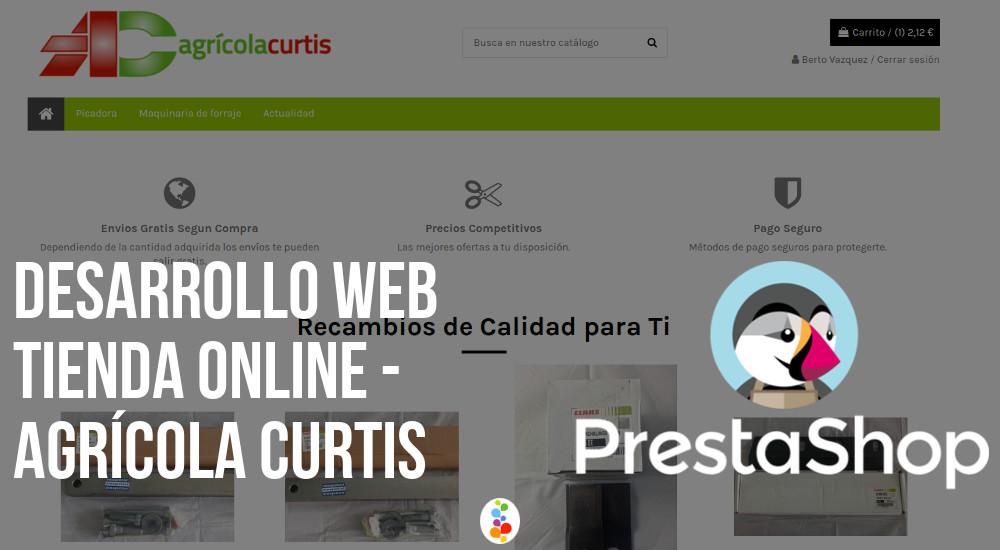 Desarrollo Web Tienda Online - Agrícola Curtis