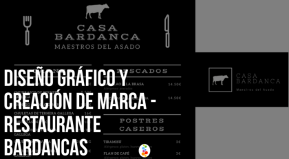 Diseño Gráfico y Creación de Marca – Restaurante Bardancas