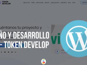 Diseño y Desarrollo Web – Token Develop