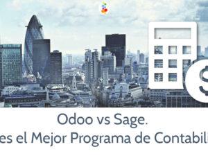 Odoo vs Sage. Cual es el Mejor Programa de Contabilidad?