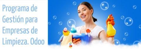 Programa de Gestión para Empresas de Limpieza. Odoo Openinnova