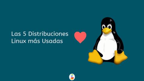 Las 5 Distribuciones Linux más Usadas Openinnova