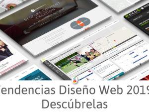 Tendencias Diseño Web 2019. Descúbrelas