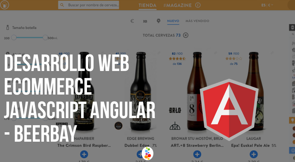 Desarrollo Web Ecommerce Javascript Angular - Beerbay