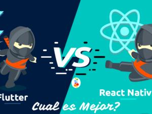 Flutter vs React Native Español. Cual es Mejor?