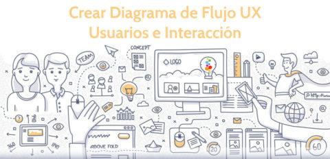 Crear Diagrama de Flujo UX Usuarios e Interacción Openinnova
