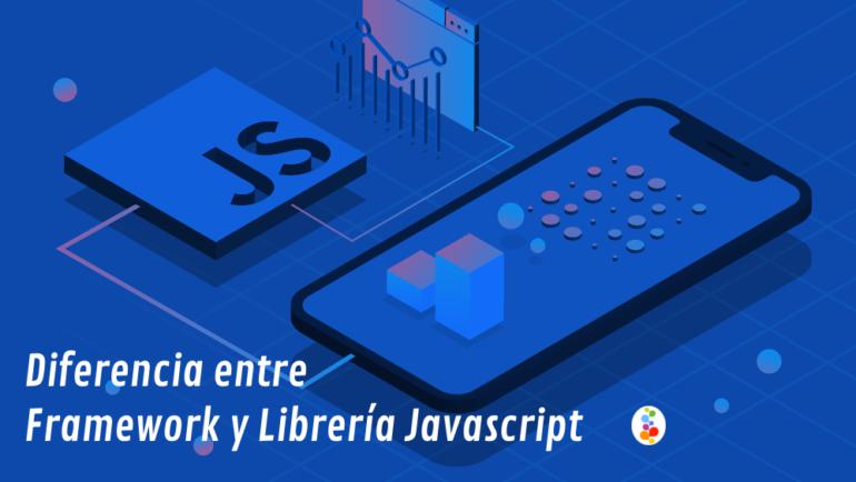 Diferencia entre Framework y Librería Javascript Openinnova