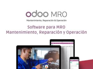 Odoo Software para MRO Mantenimiento, Reparación y Operación