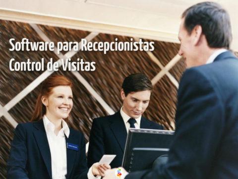 Software para Recepcionistas Control de Visitas Openinnova