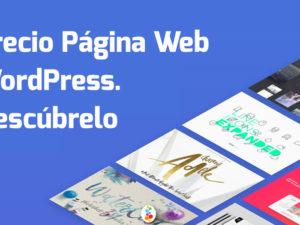 Precio Página Web WordPress. Descúbrelo