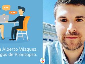 Entrevista a Alberto Vázquez. Por los Amigos de Prontopro