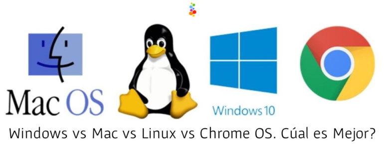 Windows vs Mac vs Linux vs Chrome OS. Cúal es Mejor? Openinnova