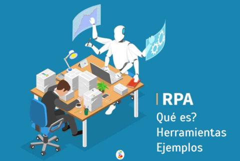 RPA Qué es? Herramientas Ejemplos Openinnova