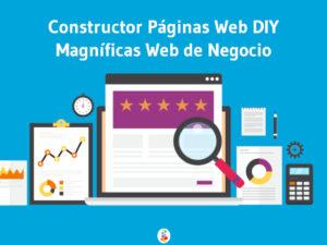 Constructor Páginas Web DIY Magníficas Web de Negocio